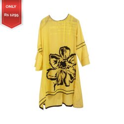 New Flower Style Embroidered Lawn shirt a