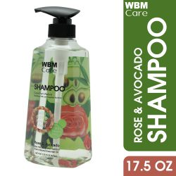 Shampoo with Rose Avocado