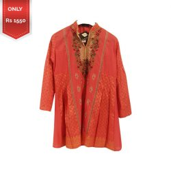 Stitched Lawn Kurti for girls a