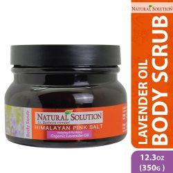lavender body scrub