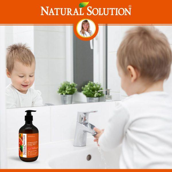 organic blood orange hand wash