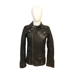 Biker Style Jacket for Men MB Front