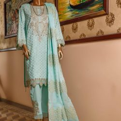 bin saeed piece cotton jacquard collection bscjc d image