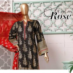 Festive Gold Pearl Lawn Embroidery Collection Vol A