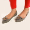 Womens Jelly Pumps S Gray
