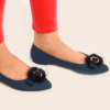 Womens Jelly Pumps S Navy