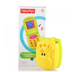 Fisher Price Growing Baby Fun Sounds Flip Phone A