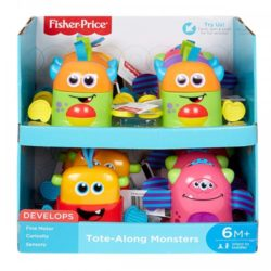 Fisher Price Tote Along Monsters A
