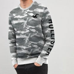 HLSTRY EXCLUSIVE SMOKY CAMOUFLAGE SWEAT SHIRT A
