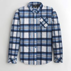 S H CHECK STYLE CASUAL SHIRT