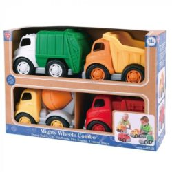 PlayGo Mighty Wheels Truck Combo a