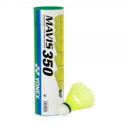 Yonex Mavis Yellow Shuttlecocks Green Cap Piece Pack a
