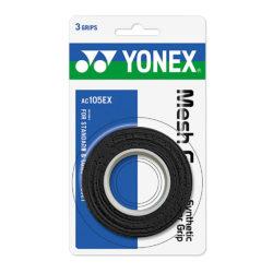 Yonex Mesh Grap Black 3 Wraps a