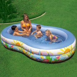 Inflatable Oval Paradise Seaside Kids Swimming Pool