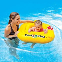 Intex Deluxe Baby Float Pool School Step