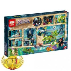 LEPIN Elves Nocturas Tower the Earth Fox Rescue
