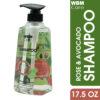Shampoo with Rose Avocado