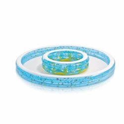 intex inflatable paddling double pool x
