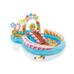 intex candy play center paddling pool with games and accessories