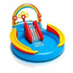 piscina gonfiabile bambini intex arcobaleno rainbow ring g extra big x