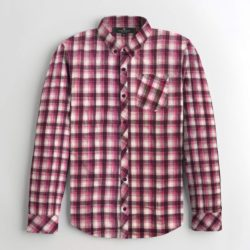 S H CHECK STYLE CASUAL SHIRT AA
