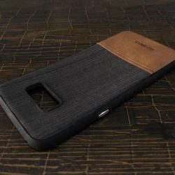 Self Lining Remax Black Cover For Samsung S Plus