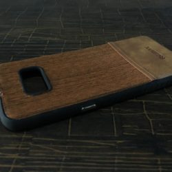 Self Lining Remax Brown Cover For Samsung S